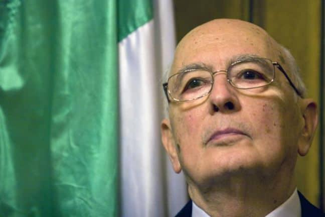 GIorgio Napolitano rieletto Presidente