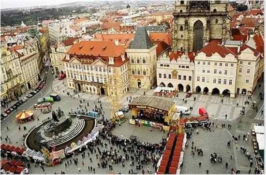 Praga Piazza della Città Vecchia