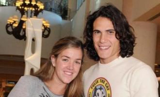 Cavani e Maria Soledad