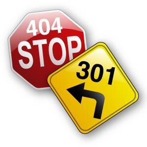 Pagina 404 e Redirect 301