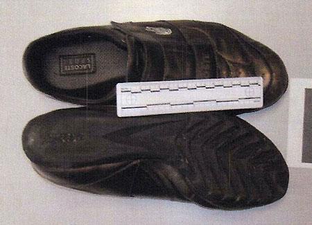 Le scarpe di Stasi