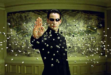 Effetto Bullet Time - Matrix