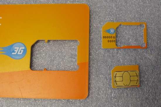 Micro Sim e adattatori SIM