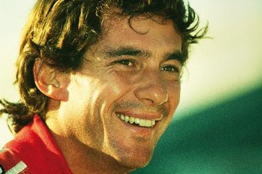 Ayrton Senna e i Kart