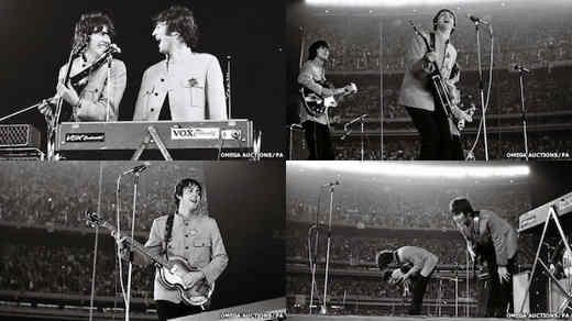 Concerto dei Beatles al Shea Stadium di New York