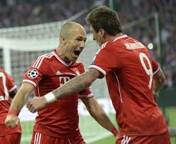 Robben segna in finale di Champions League