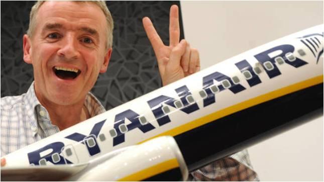 Micheal O'Leary e la sua cretura Ryanair