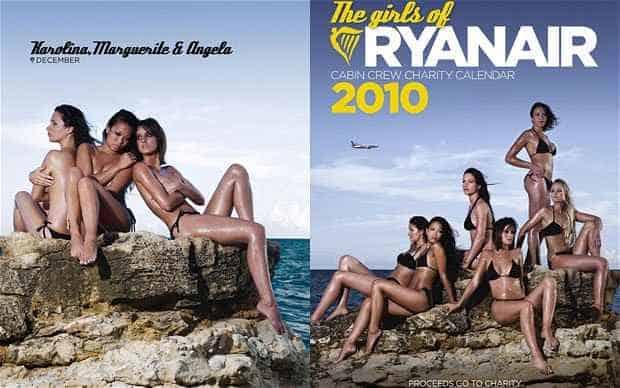 Il calendario delle hostess Ryanair