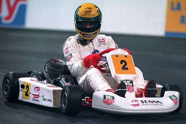 Senna e i Kart