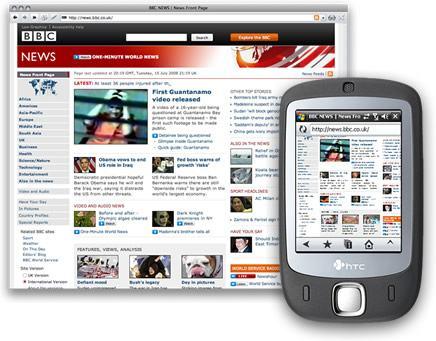 creare siti web su smartphone e tablet