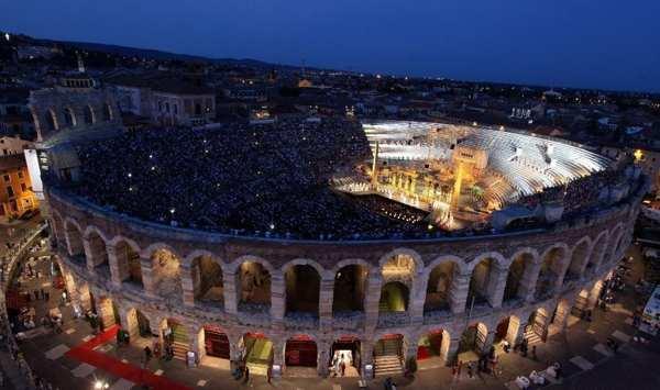 Festival del centenario all'Arena