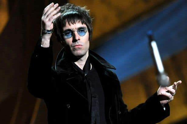 Liam Gallagher ai Brit Awards
