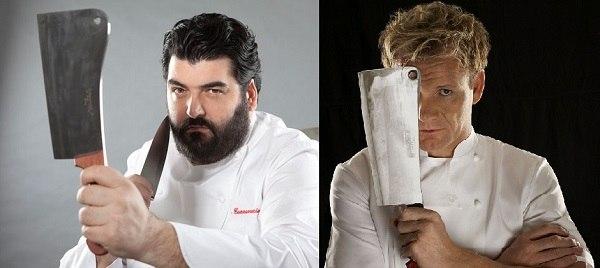 Cannavacciuolo vs Ramsay