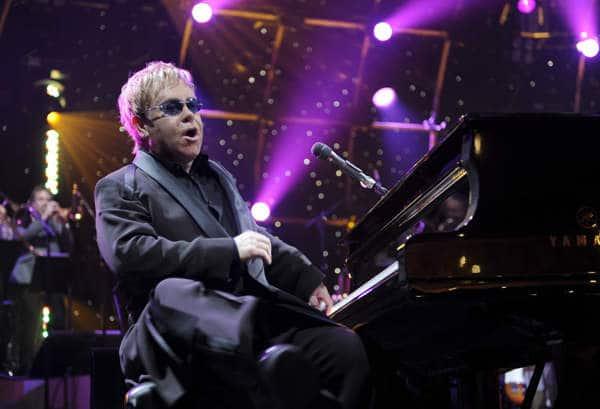 Elton John in concerto in Italia