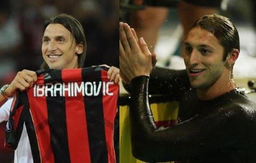 Ibrahimovic e Ian Thorpe