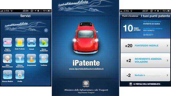 L'App iPatente