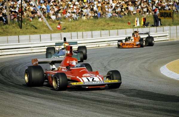Lauda alla Ferrari