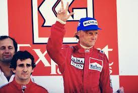 Lauda tre volte campione del mondo