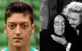 Ozil e Igor