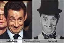 Sarkozy e Stanlio