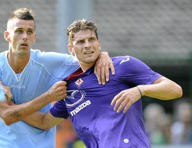 Gomez con la Fiorentina