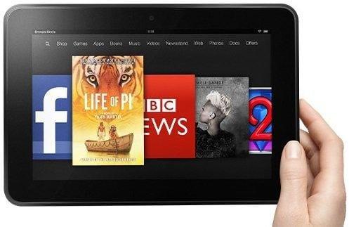 Kindle Fire HD 8 9 cropped thumb - Gli eBook e la rivoluzione del modo di leggere i libri