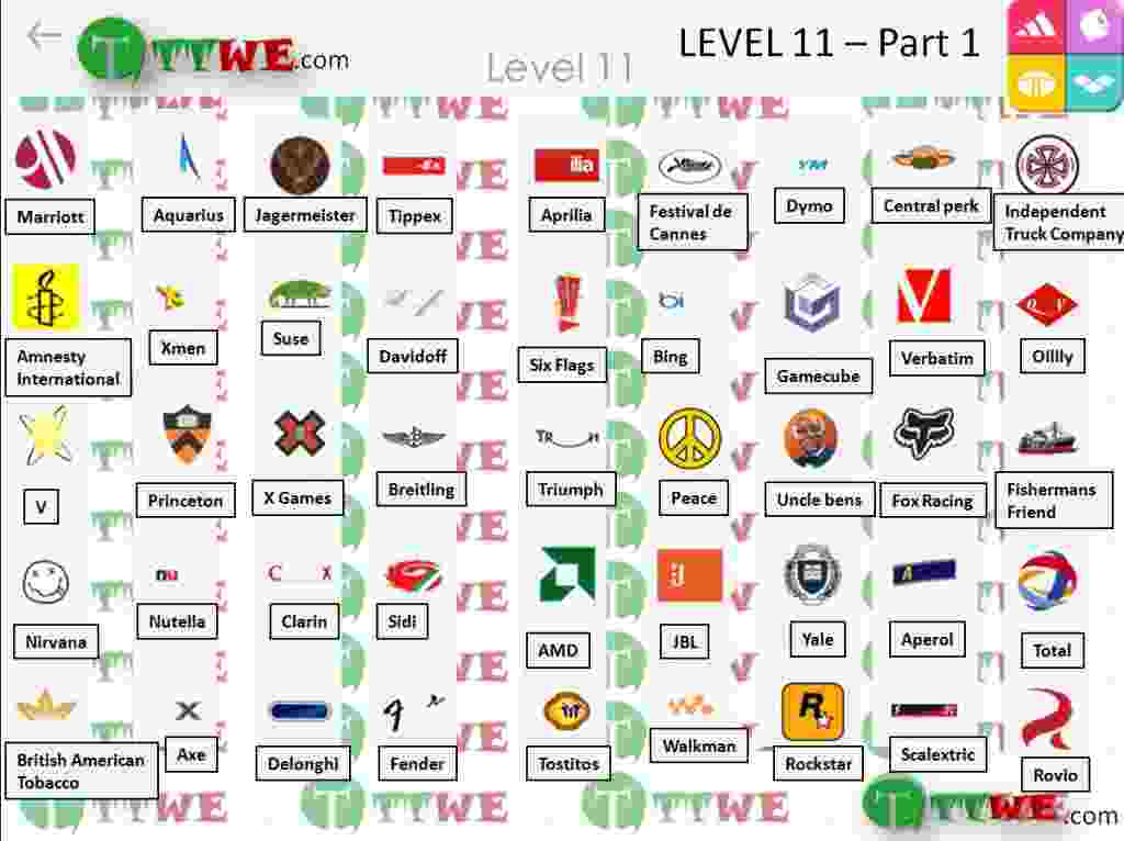 Livello 11 parte 1 Logo Quiz iPhone