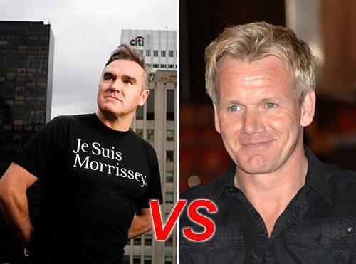 Ramsay vs Morrissey degli Smiths