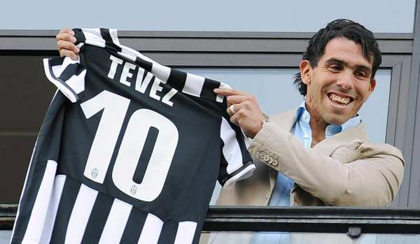 Tevez alla Juventus