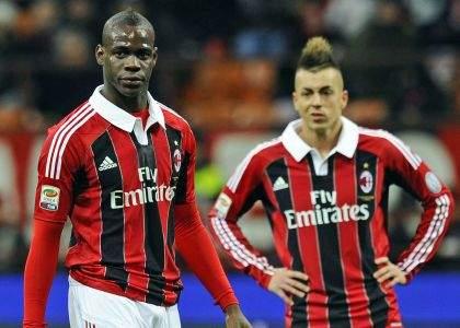 Balotelli e El Shaarawy Milan