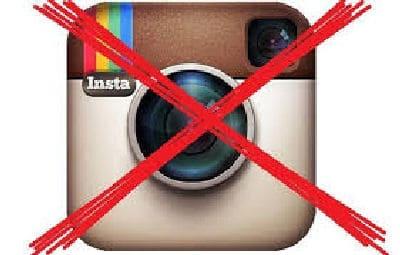 Eliminare l'account di Instagram