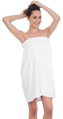 Donna con asciugamano