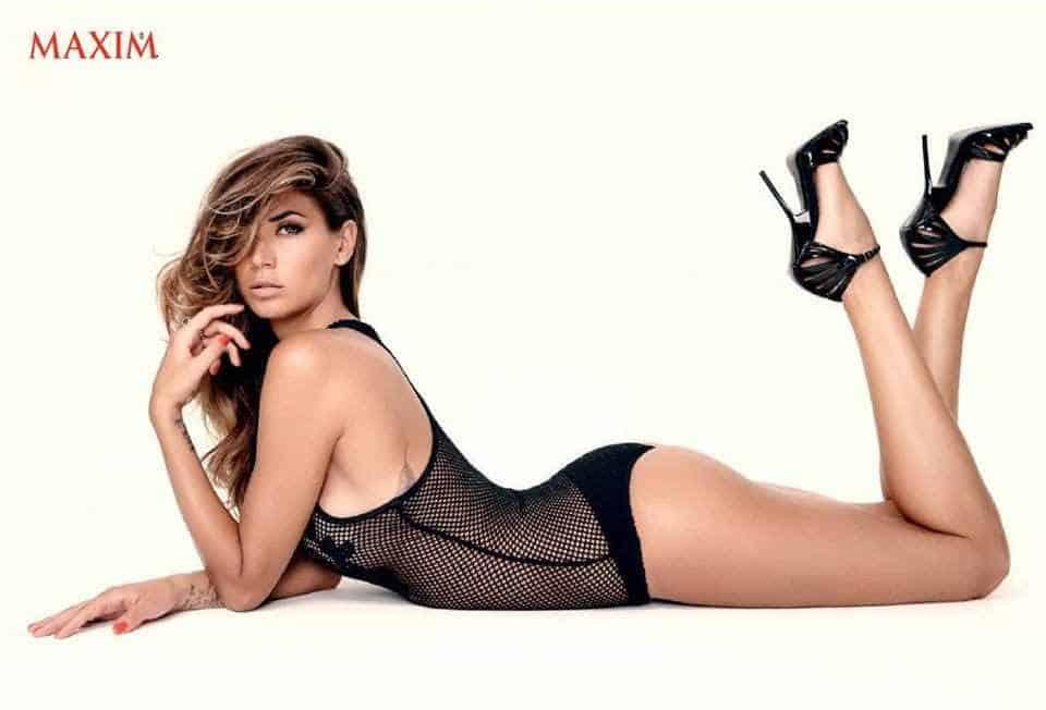 Melissa Satta posa per Maxim
