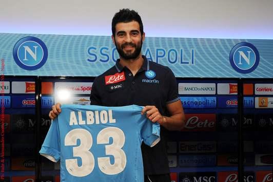 Albiol - Napoli