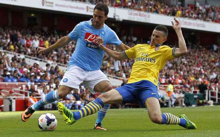 Arsenal-Napoli amichevole