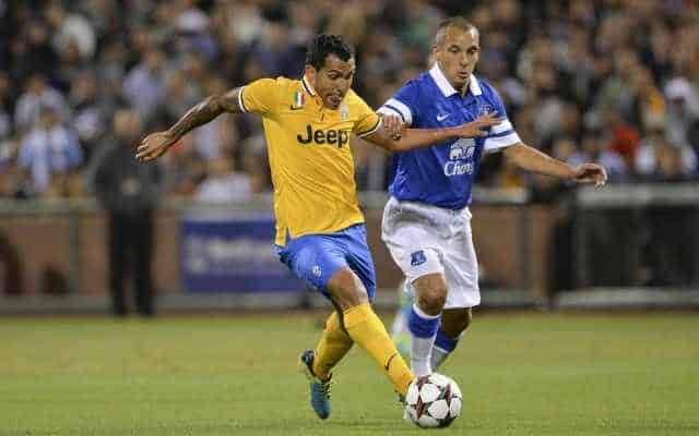 Juventus - Everton 1-1 amichevole