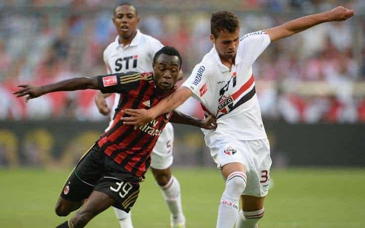 Milan - San Paolo 1 a 0
