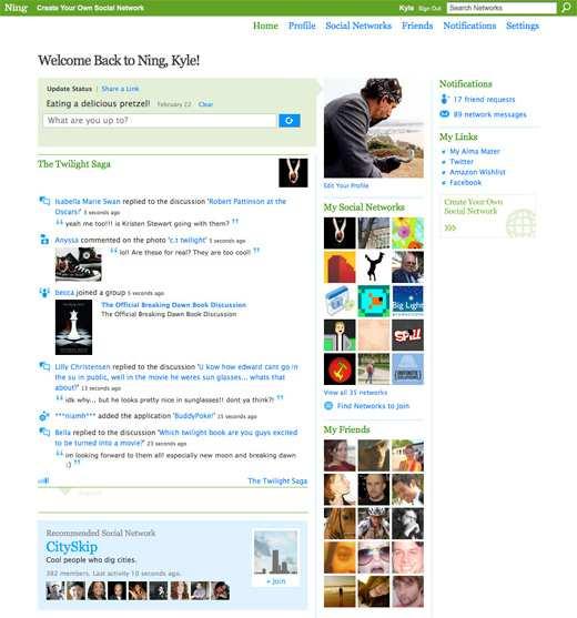 Social Network Ning