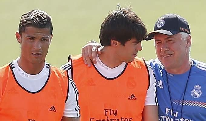 Ancelotti ritrova Kakà a Madrid