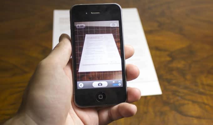 Scannerizza con lo smartphone