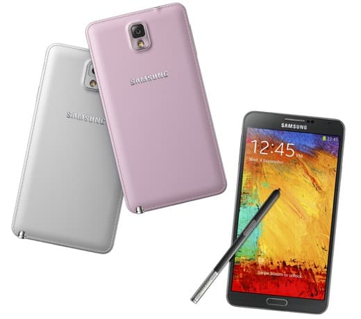 Samsung Galaxy Note 3 - colori