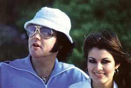 Elvis Presley e Ginger Alden