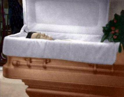 Elvis nella tomba