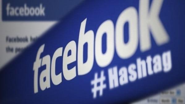 #hashtag di Facebook