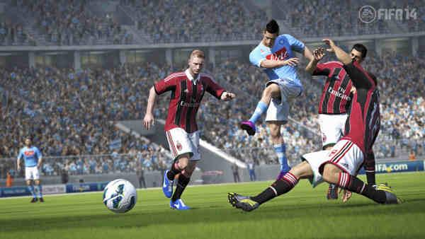 Fifa 14 tecnologia Pure Shot