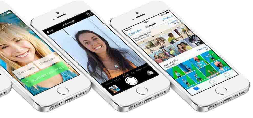Galleria fotografica iOS 7
