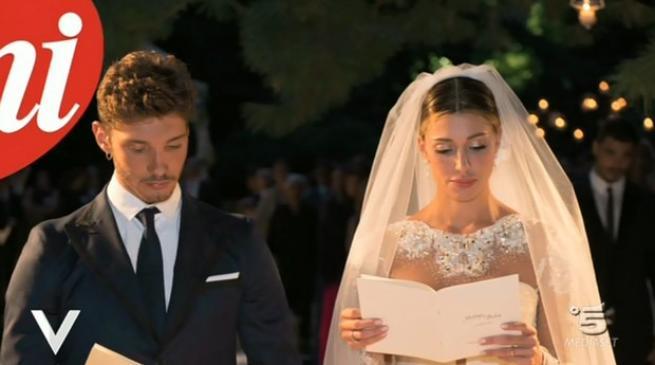 matrimonio di Belen e Stefano