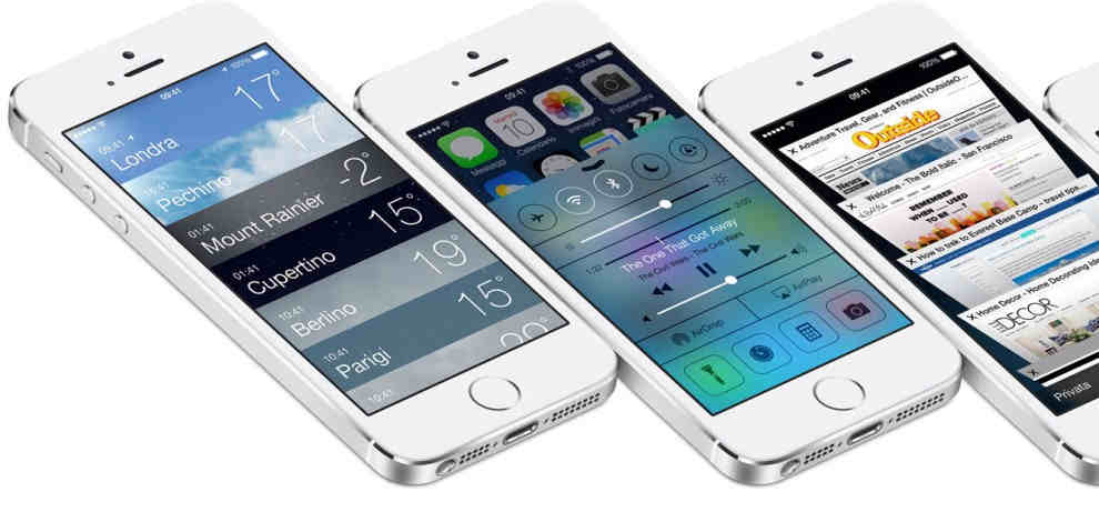Nuove funzioni in iOS 7