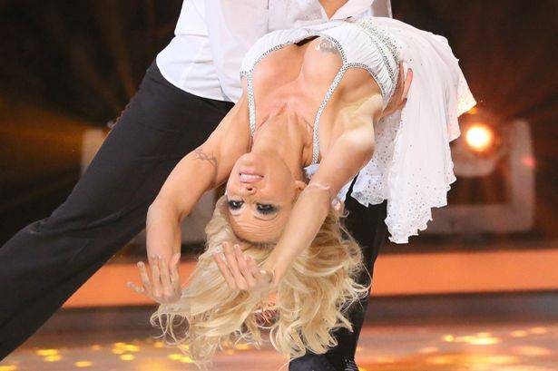 Pamela Anderson a Dancing on Ice