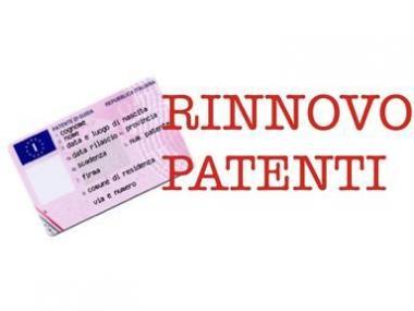 Rinnovo della Patente con Rfi